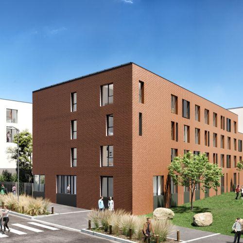 logement neuf extérieur 2 Stud'Campus - ROUBAIX