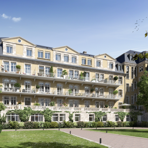 logement neuf extérieur OSTEL SAINTE ODILE - STRASBOURG