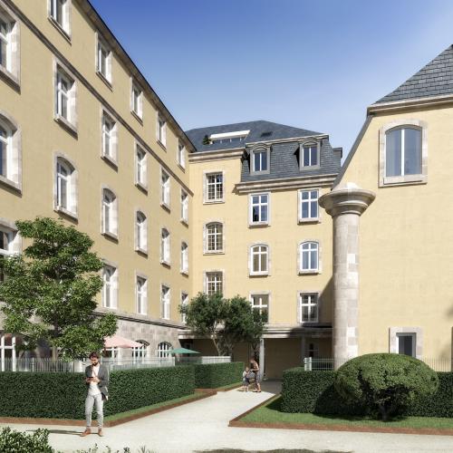 logement neuf extérieur 1 OSTEL SAINTE ODILE - STRASBOURG