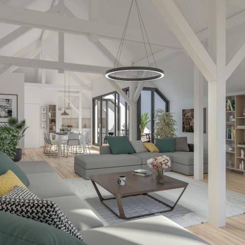 logement neuf intérieur OSTEL SAINTE ODILE - STRASBOURG