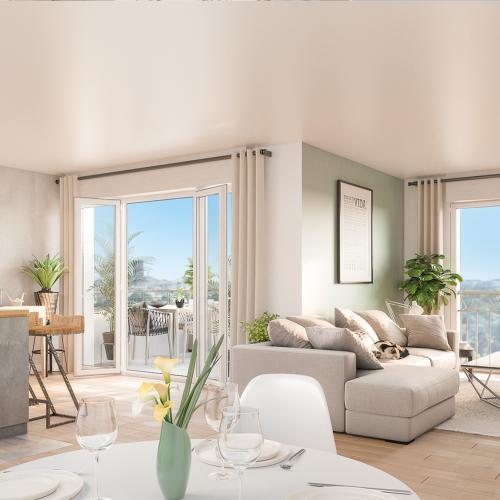 logement neuf intérieur Résonance - SURESNES
