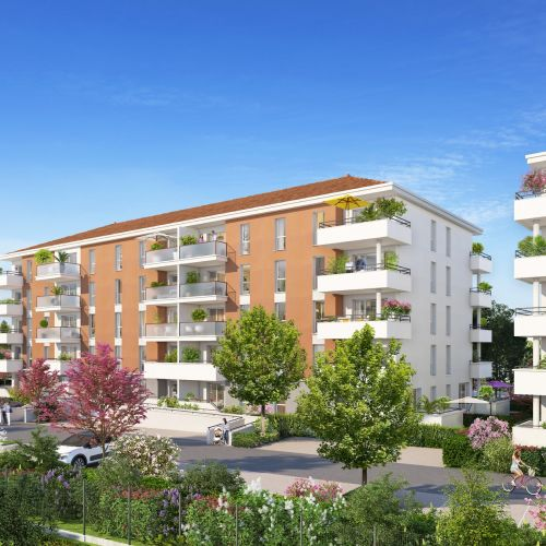 logement neuf extérieur Les Terrasses de Provence - AVIGNON
