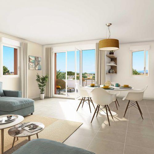 logement neuf intérieur Les Terrasses de Provence - AVIGNON