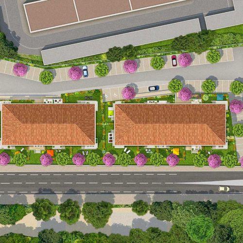 logement neuf plan Les Terrasses de Provence - AVIGNON