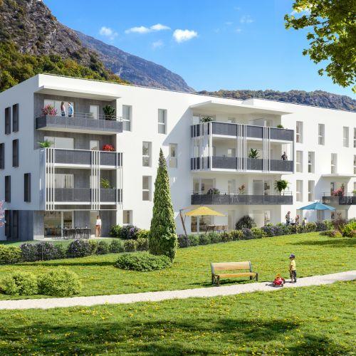 logement neuf extérieur ELOGE DU CHATEAU - Challes-les-Eaux