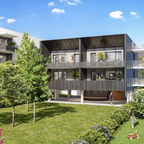 logement neuf extérieur 1 ELOGE DU CHATEAU - Challes-les-Eaux