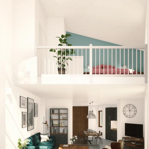logement neuf intérieur ORANGERIE - PACE