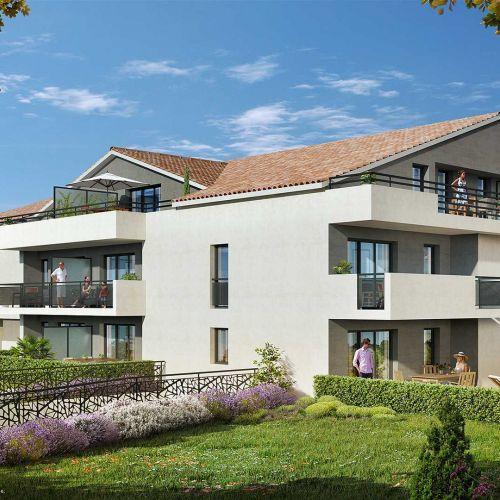 logement neuf extérieur L'Ecrin - LA GARDE