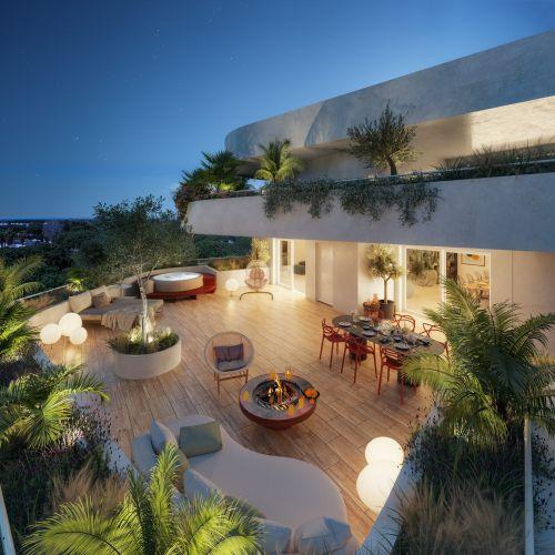 logement neuf extérieur COBA - La Grande-Motte