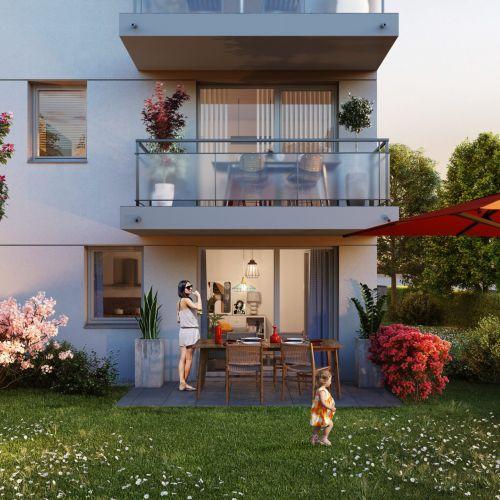 logement neuf extérieur 1 LES JARDINS DE PISSARRO - GISORS