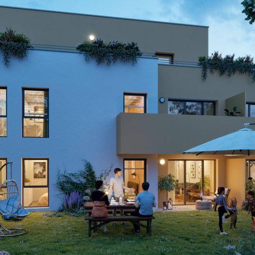 logement neuf extérieur Tempo - MASSY