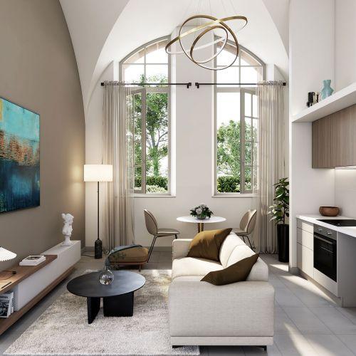 logement neuf extérieur PENSIONNAT DE JUILLY - JUILLY
