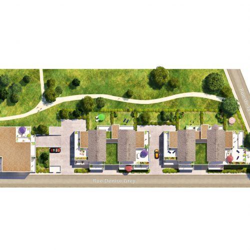 logement neuf extérieur LE CLOS DE LA PRESLE - TOURS