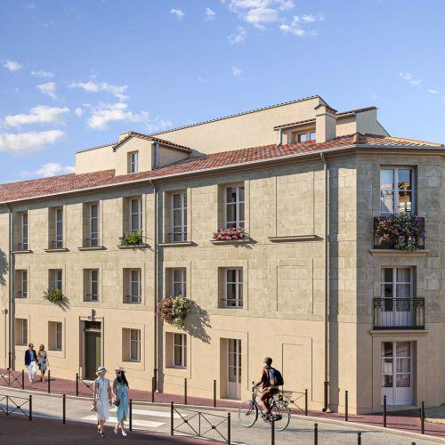 logement neuf extérieur CLOS DE LA MERCI - MONTPELLIER
