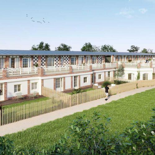 logement neuf extérieur MANOIR DES CREUNIERS - TROUVILLE SUR MER