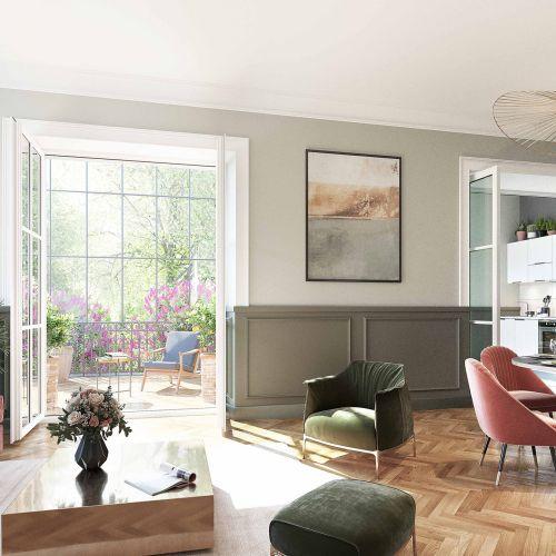 logement neuf intérieur 1 ABBAYE DE BONLIEU MELUDONOISE - STE EULALIE