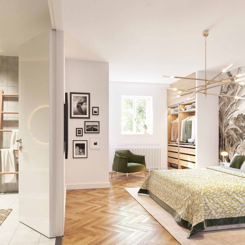 logement neuf intérieur ABBAYE DE BONLIEU MELUDONOISE - STE EULALIE