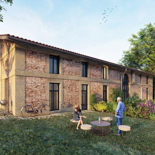 logement neuf extérieur 1 ABBAYE DE BONLIEU MELUDONOISE - STE EULALIE