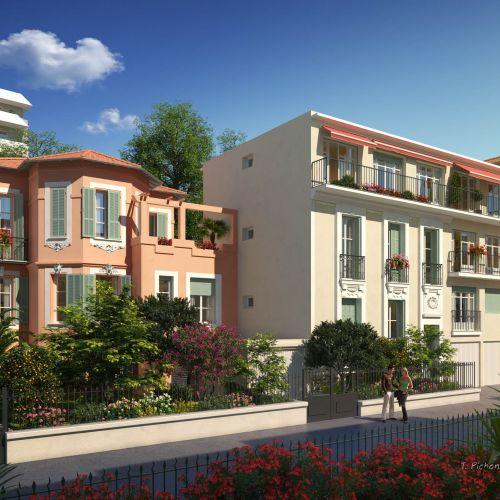 logement neuf extérieur VILLA HONORE LOUISE - NICE
