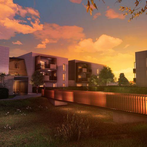 logement neuf extérieur LE VERGER DES FARELLES - GARONS