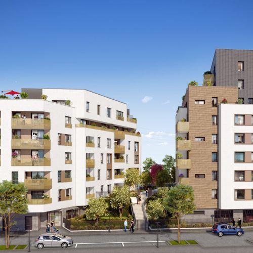 logement neuf extérieur 1 Sillage - ALFORTVILLE