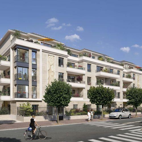 logement neuf extérieur Le Domaine de Condé - ST MAUR DES FOSSES