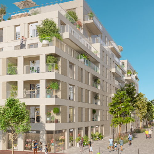 logement neuf extérieur 1 ATRIUM CITY 2 - CLICHY