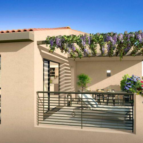 logement neuf extérieur Coeur Village - PUYRICARD