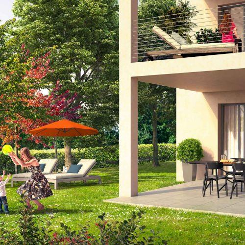 logement neuf extérieur 1 Coeur Village - PUYRICARD