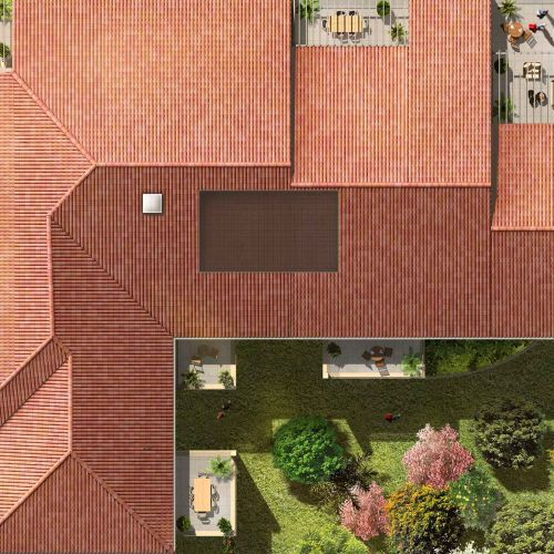 logement neuf plan Coeur Village - PUYRICARD