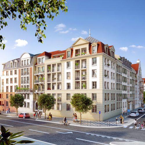 logement neuf extérieur Domaine de la Reine - LE BLANC MESNIL