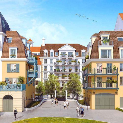 logement neuf extérieur Le Domaine des Armoiries - LE BLANC MESNIL