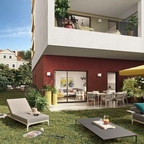 logement neuf extérieur FISCHER TRANCHE 3 LOT C - SCHILTIGHEIM