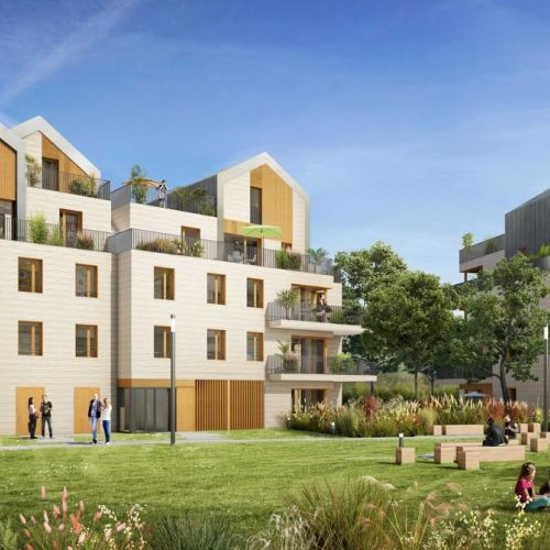 logement neuf extérieur 1 L'Accord Parfait - LE VESINET