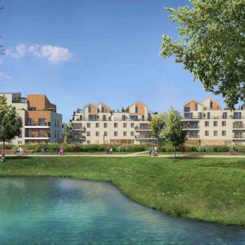 logement neuf extérieur 2 L'Accord Parfait - LE VESINET