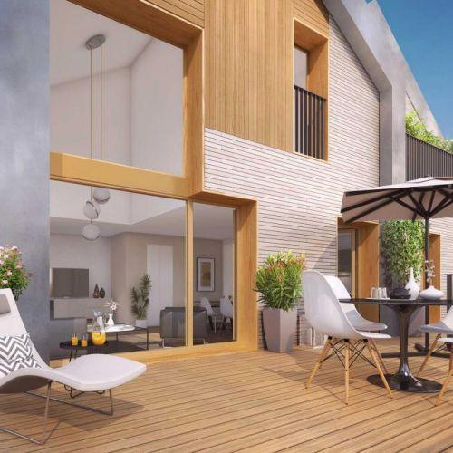 logement neuf extérieur L'Accord Parfait - LE VESINET