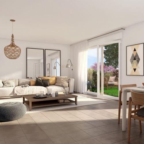 logement neuf intérieur La Roselière - ORMOY