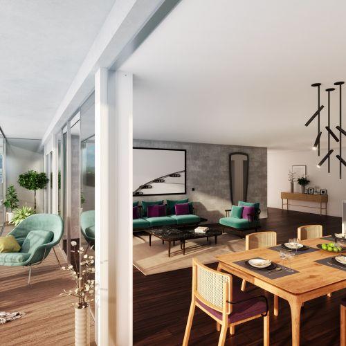 logement neuf intérieur 122 Damremont - PARIS 18