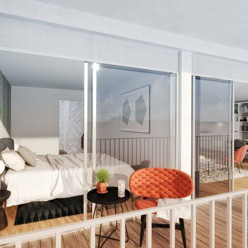 logement neuf intérieur 1 122 Damremont - PARIS 18