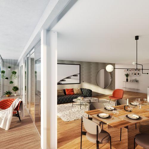 logement neuf intérieur 2 122 Damremont - PARIS 18
