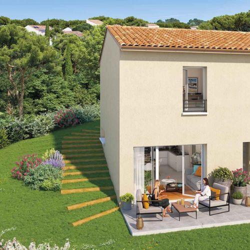 logement neuf extérieur Harmonie Provence - GARDANNE