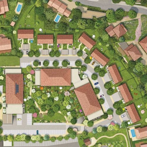 logement neuf plan Harmonie Provence - GARDANNE