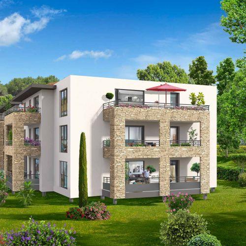 logement neuf extérieur Domaine Castel Verde - VENTABREN