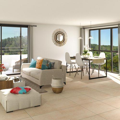 logement neuf intérieur Domaine Castel Verde - VENTABREN