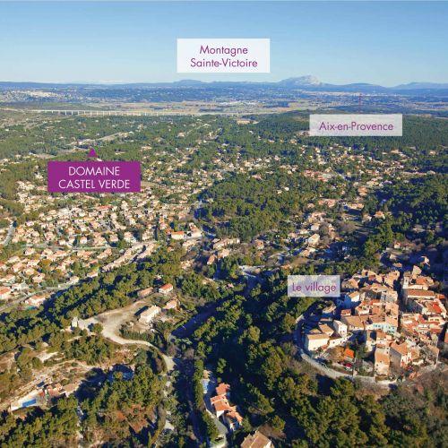 logement neuf plan Domaine Castel Verde - VENTABREN