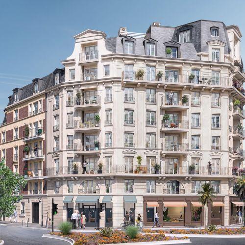 logement neuf extérieur CARRE FOCH - LA GARENNE COLOMBES