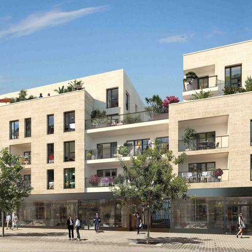 logement neuf extérieur Amytis - ST MAUR DES FOSSES