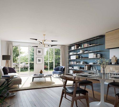 logement neuf intérieur Amytis - ST MAUR DES FOSSES