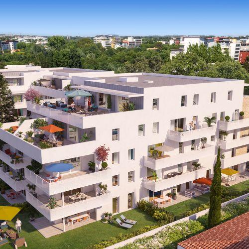 logement neuf extérieur 1 Domaine d'Antonin - MONTPELLIER