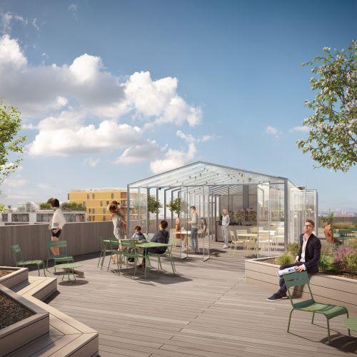 logement neuf extérieur 1 New G - PARIS 13